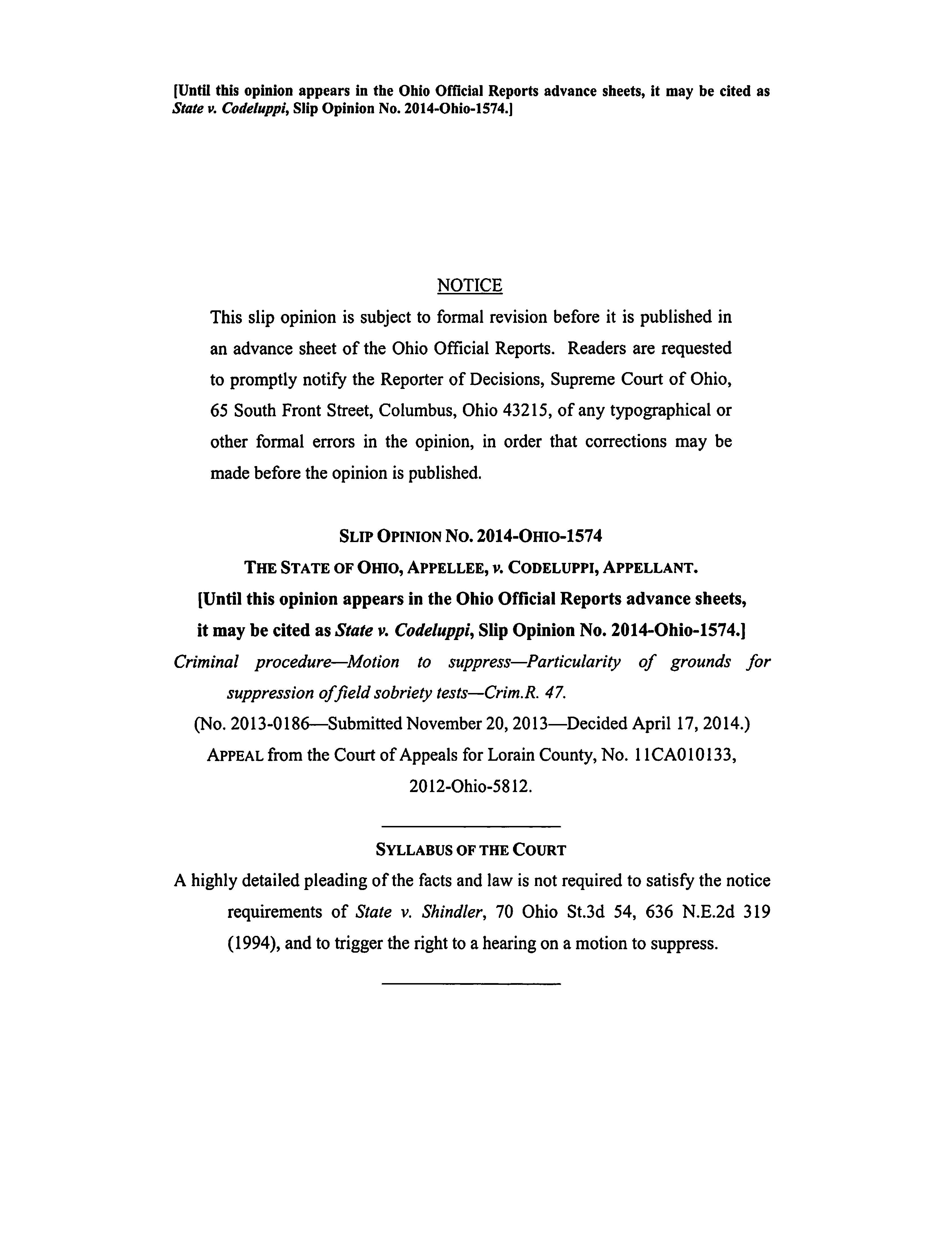 State v Codeluppi page one.jpg