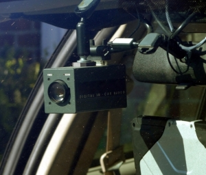 Video camera in cruiser