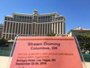 Photo of NCDD seminar name tag at Bellagio